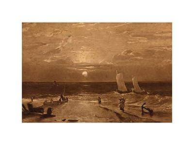 Music Poster William Turner - The Mildmay Sea-Piece 1812 Print 60x80cm