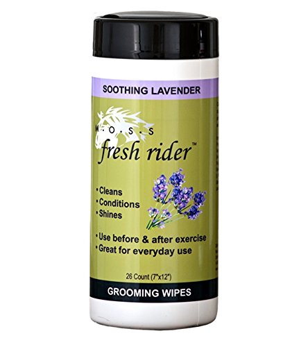 MOSS Fresh Rider Horse Grooming Wipes - Lavender by Nunn Finer Products