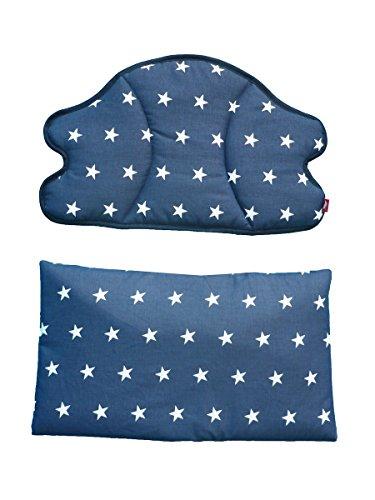 Linden 35423 Polster für Treppenhochstühle Sterne