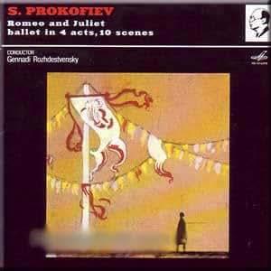 Prokofiev - Romeo and Juliet. Ballet in 4 acts - Rozhdestvensky (2 CD Set)