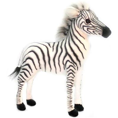 HANSA Baby Zebra Plush: Toys & Games