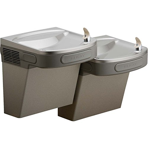 Elkay Bi-level Wall Mount Drinking Fountain (Double Fountain)