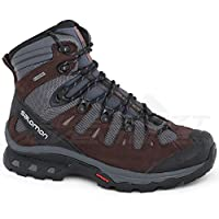 Salomon Quest 4D 3 GTX Gore-Tex W Kadın Trekking Boots Boyutu UK 5.5, Abanoz/Çikolatalı Erik/Peppercorn - Brown, 38 2/3