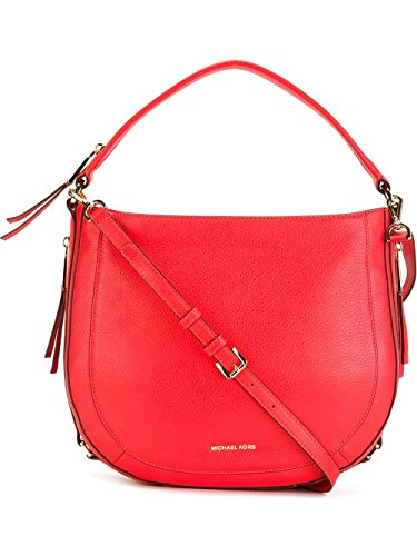 Coral Reef Bag (Michael Kors Julia Medium Leather Shoulder Bag in Coral Reef)