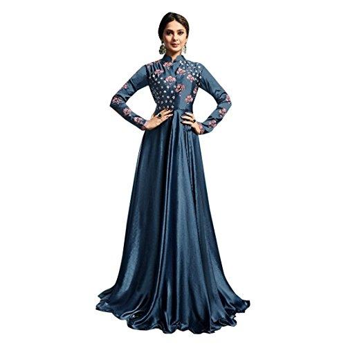 Wedding Kamiz Hijab Long Anarkali Pakistani Kafaan Suit 2805 Kameez Blue Muslim Designer Wear Punjabi Ragazza Donna Ladies Party Top Salwar Choli Shalwar w6IU5nqW