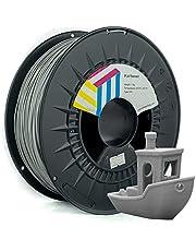 Eolas Prints Basics PLA Filament 1.75   PLA Plus 3D-printer   voedselveilig   lichte spoel   1,75 mm   spoel 1 kg   grijs