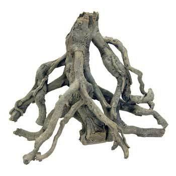 Deep Blue Professional ADB80502 Small Mangrove Tree Root Synthetic Coral for Aquarium, 16 by 8-Inch