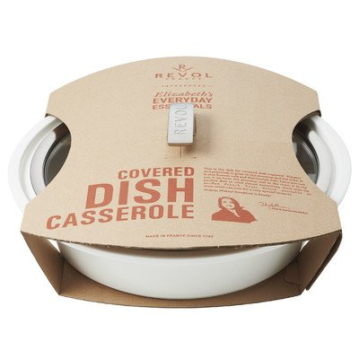 Elizabeth's Everyday Round Covered Dish Casserole with Lid