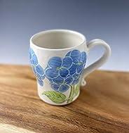 Porcelain Stein, Mug in Hydrangea Pattern