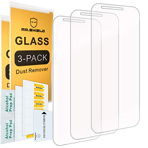 [3-Pack]-Mr Shield for LGStylo3Plus [Tempered Glass] Screen Protector [Japan Glass with 9H Hardness] with Lifetime Replacement Warranty