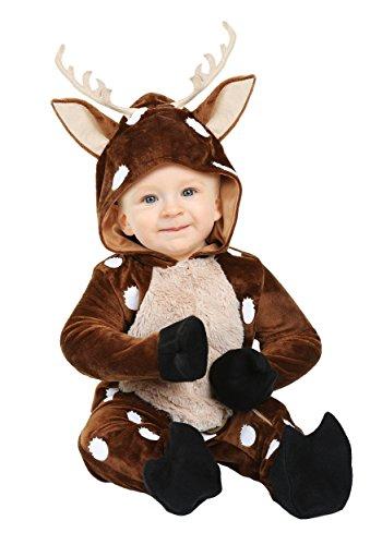 Infant Baby Deer Costume 12/18mo Brown