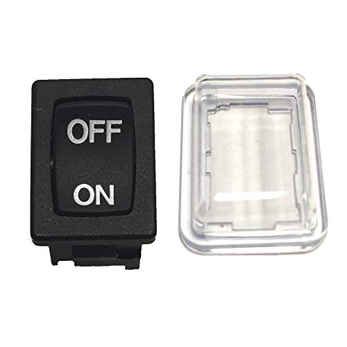 Replacement Power Switch Plus Dust Cover for Porter Cable 7800 Drywall Sander