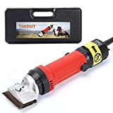 Professional Animal Grooming Clipper Kit, Electronic Shears for Horse Goat Llama Pony Cattle
