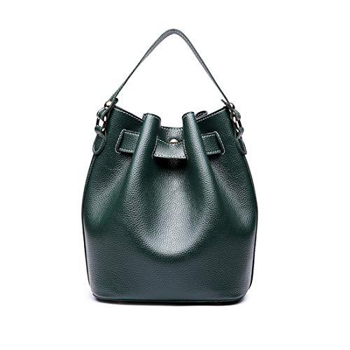 Bag Green Messenger Simple Honneury Bucket Retro Verde Oscuro Pu Bandolera YfSSzwq