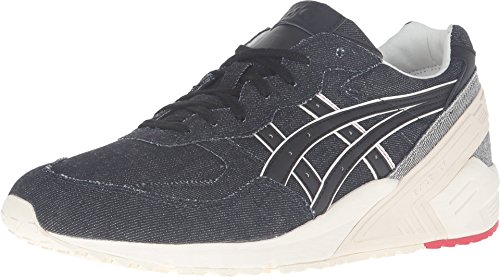 Onitsuka Tiger by Asics Unisex Gel-Sight Navy/Black Sneaker Men's 7.5, Women's 9 Medium