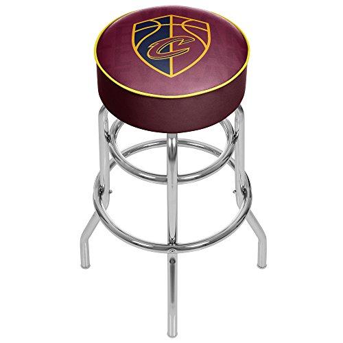 Trademark Gameroom NBA1000-CC3 NBA Padded Swivel bar Stool - City - Cleveland (Cleveland Cavaliers Nba Bar Stool)