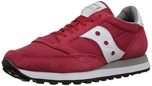 Originals Men's Jazz Original Fashion Sneaker,Red,10.5 M US