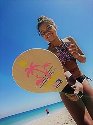 Frescobol Florida Set, 2 Original Vero Frescobol playa palas, 2 ...