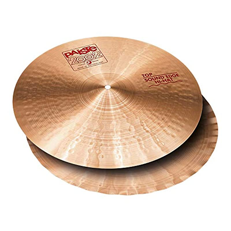 PAISTE 2002 Sound Edge Hi-Hat Pair 14 하이햇 심벌즈 쌍