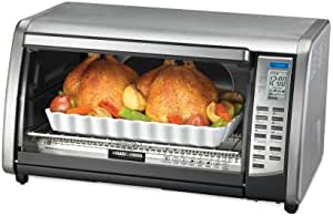 Black & Decker CTO6301 Digital Advantage 6-Slice Convection Toaster Oven, Stainless Steel