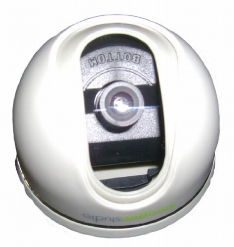- Fixed Dome Indoor Color Security Camera 480 TV Lines with 3.3mm lens ¼ inch Aptina