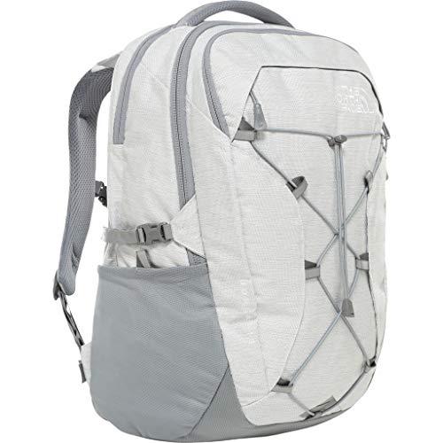 The North Face Women's Borealis Backpack, Tnf White Metallic Melange/Mid Grey