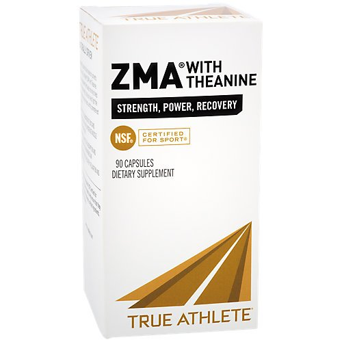 True Athlete ZMA with Theanine 90 Capsules by The Vitamin Shoppe