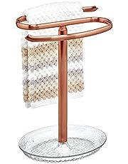 mDesign Rain Fingertip Towel Holder