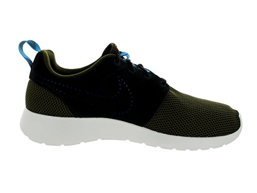 Nike Roshe Black Run 511882 Training Damen Laufschuhe Loden Dark S1SqdrxT