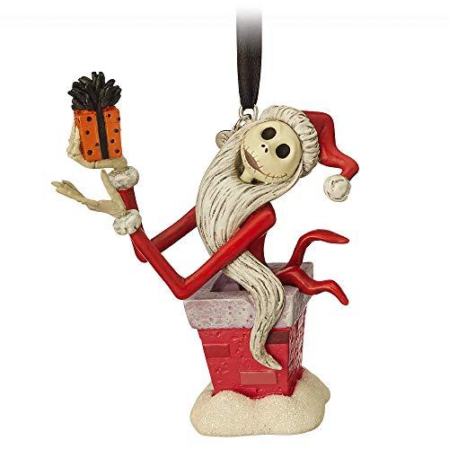 Disney Jack Skellington Sketchbook Ornament - Tim Burtons The Nightmare Before Christmas Mutli