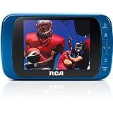 RCA DHT235A 3.5-Inch PORTABLE / HANDHELD LED-lit 720p 60Hz TV (Blue)