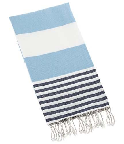 Swan Comfort 100% Cotton Pestemal Turkish Bath Towel, 39