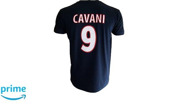 Paris Saint Germain - Camiseta de, Edinson Cavani, nº 9, colección Oficial, Talla DE Adulto Azul XXL: Amazon.es: Ropa y accesorios