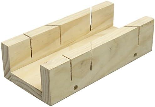 Silverline 447130 Caja de Inglete, 250 mm Longitud, 85 mm Anchura ...
