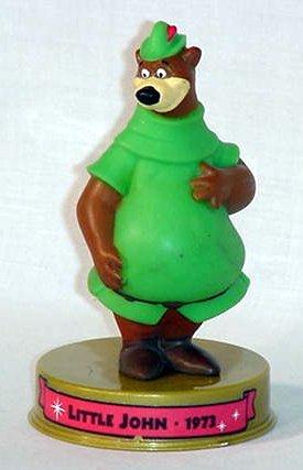 (2002 Mcdonalds 100 Years of Disney Little John Figure Happy Meal Toy)