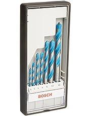 Bosch Professional Bosch Professional 7-delige universele borenset CYL-9 (Multi Construction, accessoire voor boormachines met opname voor boren met ronde schacht)