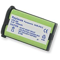 Panasonic KX-TGA228 Cordless Phone Battery Ni-MH, 2.4 Volt, 1500 mAh - Ultra Hi-Capacity - Replacement for Panasonic HHR-P513 Rechargeable Battery