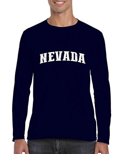 Mom's Favorite Nevada American States NV Mens Long Sleeve -