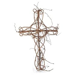 Darice DIY Crafts Grapevine Cross 19 x 12 inches (6-Pack) #2848-94