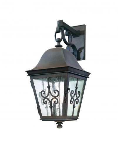 Troy Lighting B2354WB, Markham Outdoor Wall Sconce, 240 Total Watts, Weathered Bronze ()
