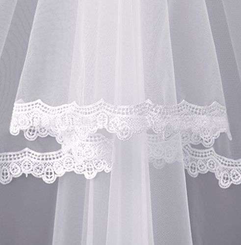 Wedding with Style1 Solovedress Evening Veil Bridal White Gown Dress Sash Mermaid Lace Dress Women's qAwwnpagFE