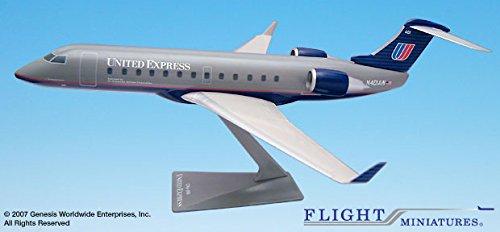 Flight Miniatures Air Wisconsin United Bombardier CRJ200 1:100 Scale Display Model