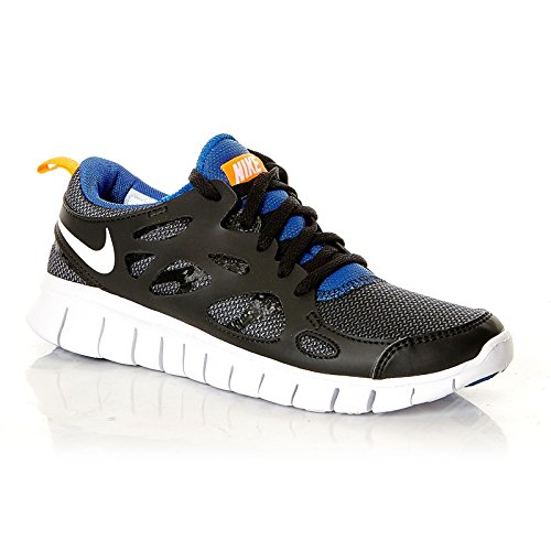 033 Run 2 Gs total black para Nike Zapatos Nike game hombre white Free orange royal qwC6tB