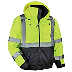 High Visibility Reflective Winter Bomber...