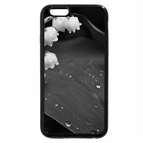 iPhone 6S Plus Case, iPhone 6 Plus Case (Black & White) - LILY OF THE VALLEY