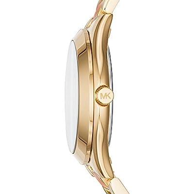 Michael Kors Watches Mini Slim Runway Two-Tone Three-Hand Watch from Michael Kors Watches