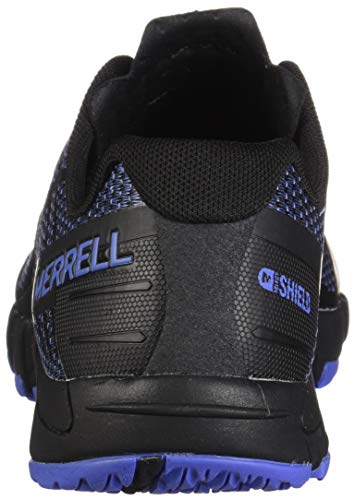 Bare Merrell Sportive Black White Donna Shield Scarpe Access White Nero Black Flex Indoor 6BBwdf