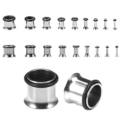 00g stainless steel plugs - 6