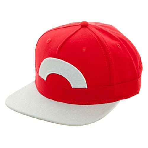 BIOWORLD Pokémon Ash Ketchum Satoshi Snapback (Pokemon X And Y Ash Ketchum Costume)