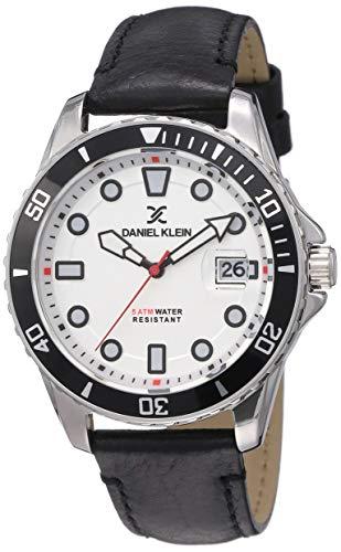 Daniel Klein Analog Silver Dial Men's Watch-DK12121-1